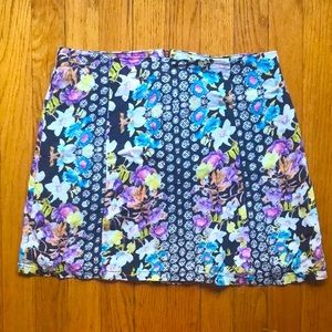Cute Pastel Floral Minkpink Skirt, Sz. M